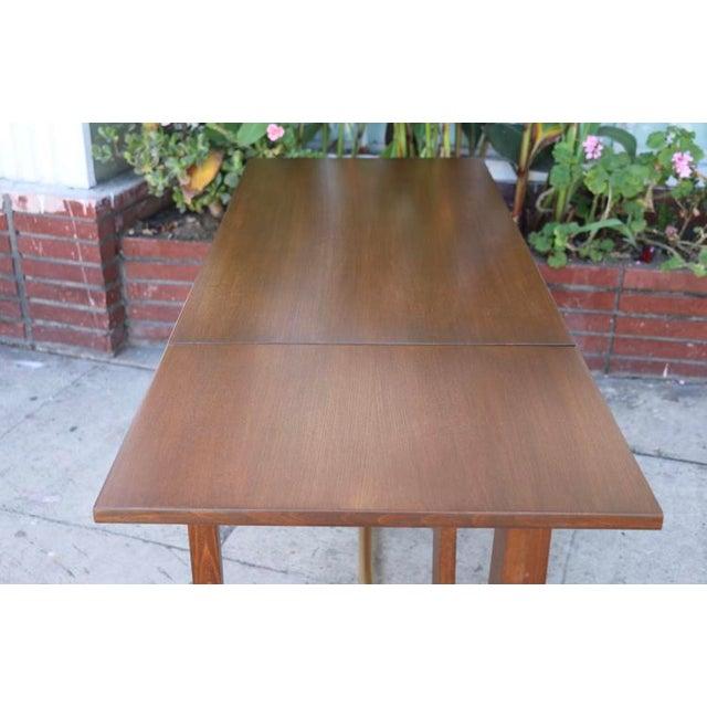 Edward Wormley Drop Leaf Desk For Sale - Image 11 of 13