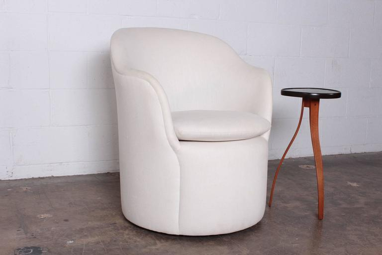 Fabric Chair By John Saladino For Dunbar For Sale   Image 7 Of 10