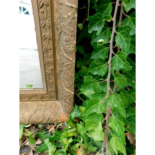 Antique Chippy Wall Mirror For Sale In San Francisco - Image 6 of 7