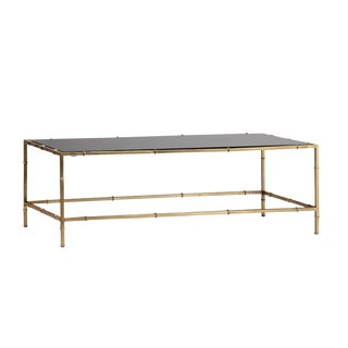 Adams Black Marble Coffee Table For Sale