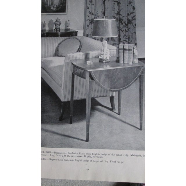 Traditional Beacon Hill Collection Pembroke Table For Sale - Image 11 of 12