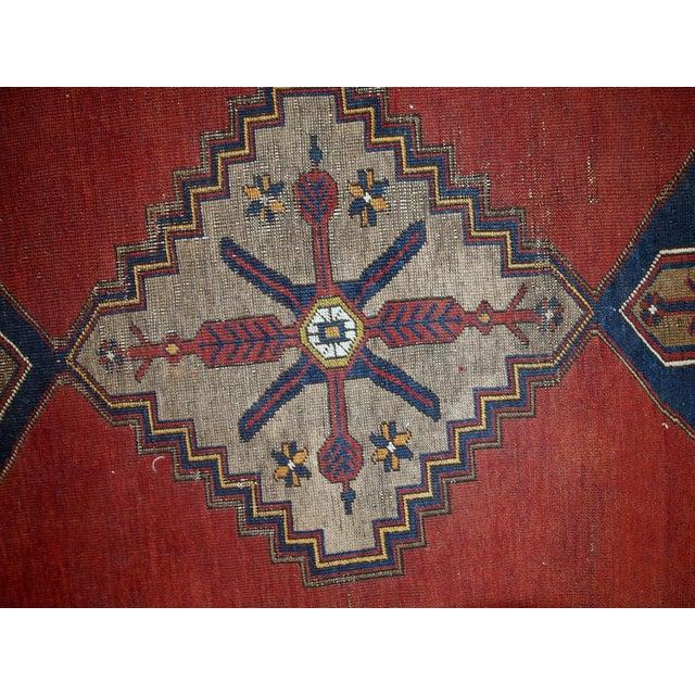 Antique Turkish Anatolian Rug - 4′1″ × 9′1″ - Image 3 of 10