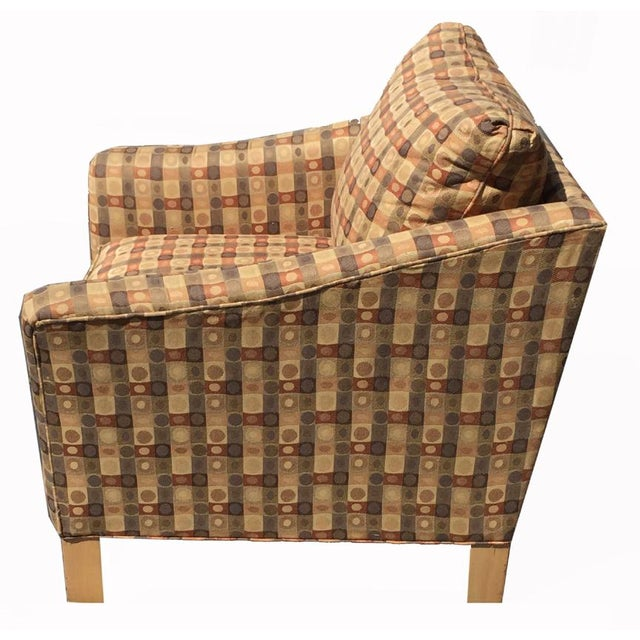 Beige & Brown Craft Master Club Chair - Image 3 of 6