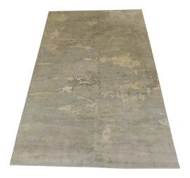 Image of Dark Gray Contemporary Machine-Made Rugs