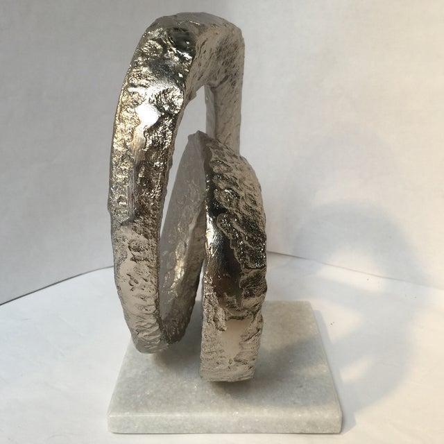 Brutalist Modern Sculpture For Sale - Image 4 of 7