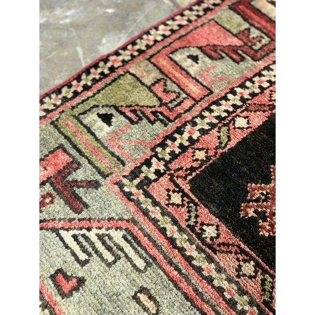 1950s Vintage Persian Runner Rug - 3′4″ × 9′ For Sale - Image 11 of 13