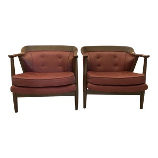 Danish Style Mid-Century Chairs - A Pair