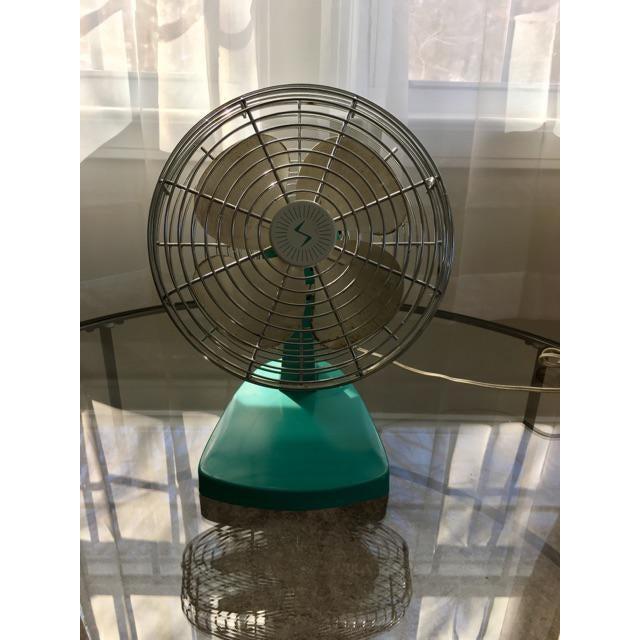Mid-Century Modern Chrome Desk Fan - Image 4 of 7