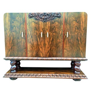 Art Deco Collector Cabinet