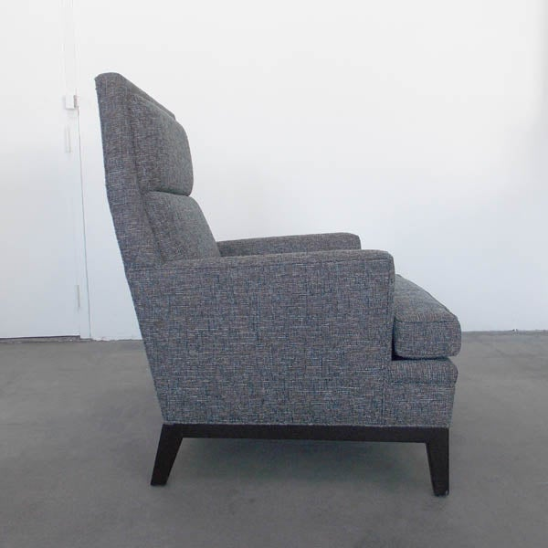 Mid-Century High Back Club Chair - Image 4 of 7