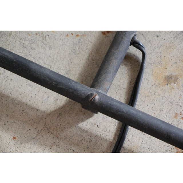"""Black Mid-Century """"Z"""" Form Floor Lamp For Sale - Image 8 of 13"""