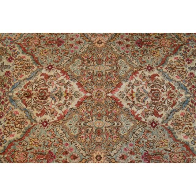 Red Karastan Empress Kirman 5'9 X 9' Rug For Sale - Image 8 of 12