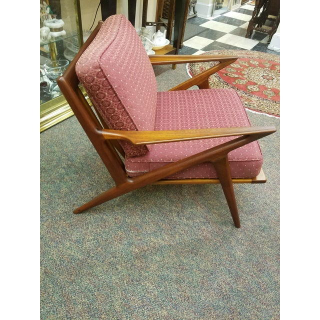 Poul Selig Mid-Century Modern Z Lounge Chair - Image 2 of 9