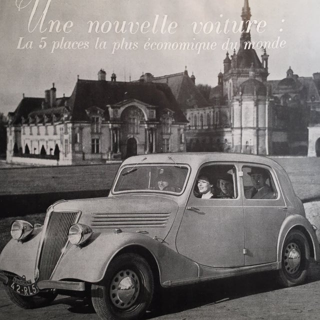 1938 French Dubonnet Ad - Image 8 of 8