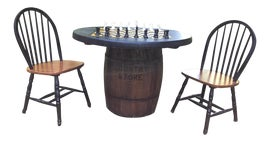 Image of Rustic Card and Game Tables