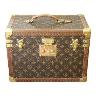 1980s Louis Vuitton Train Case For Sale