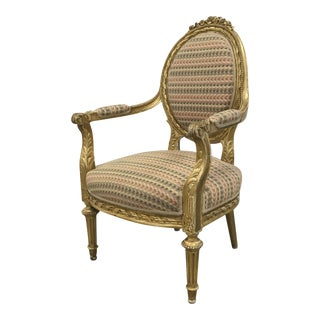 Elegant Oval Back Side Chair