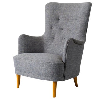 "Carl Malmsten ""Patronen"" Chair For Sale"