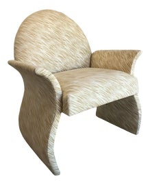 Image of Mid-Century Modern Bergere Chairs
