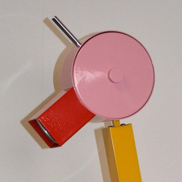 "Abstract Ettore Sottsass for Memphis ""Tahiti"" Lamp For Sale - Image 3 of 4"