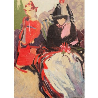 'Abstracted Figural' by Beverly Curtice Hitchcock, San Francisco Bay Area Expressionist Woman Artist For Sale
