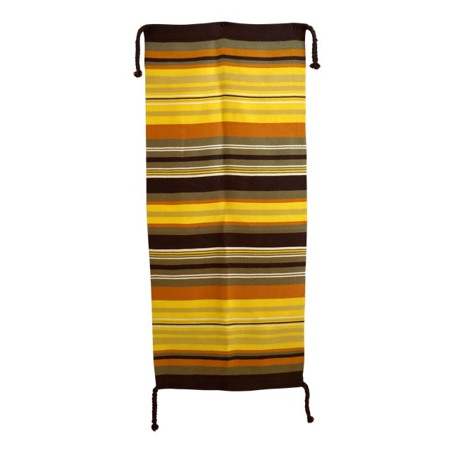 Mid-Century Modern Wool Wall Hanging - Image 1 of 5