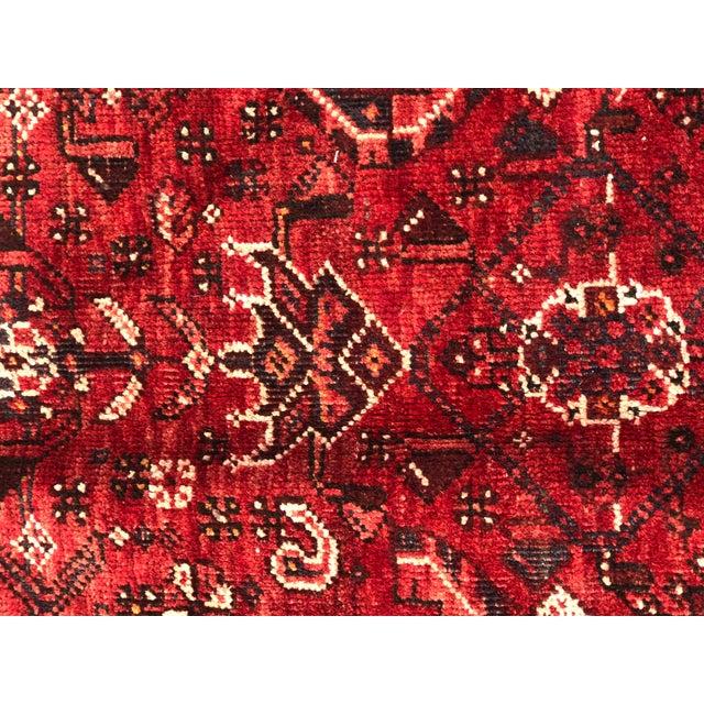 "Vintage Persian Qashghi Rug - 5'1""x8' - Image 3 of 9"