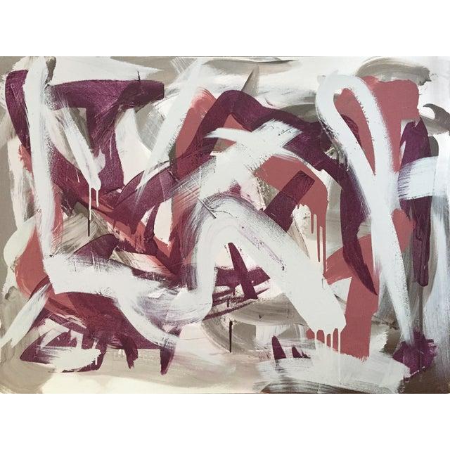 Michael A McCullough Contemporary Abstract Painting #117 by Michael a McCullough For Sale - Image 4 of 4