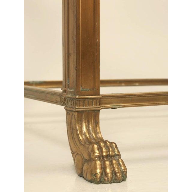 Gold Vintage Bronze Table or Kitchen Island Base For Sale - Image 8 of 11
