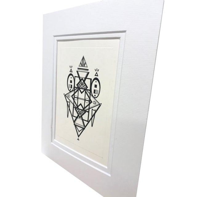 2010s Natasha Mistry Original Ink Drawing For Sale - Image 5 of 12