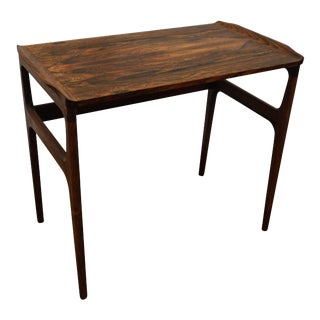 "Original Danish Mid Century Rosewood Side Table - ""Bredgade"""
