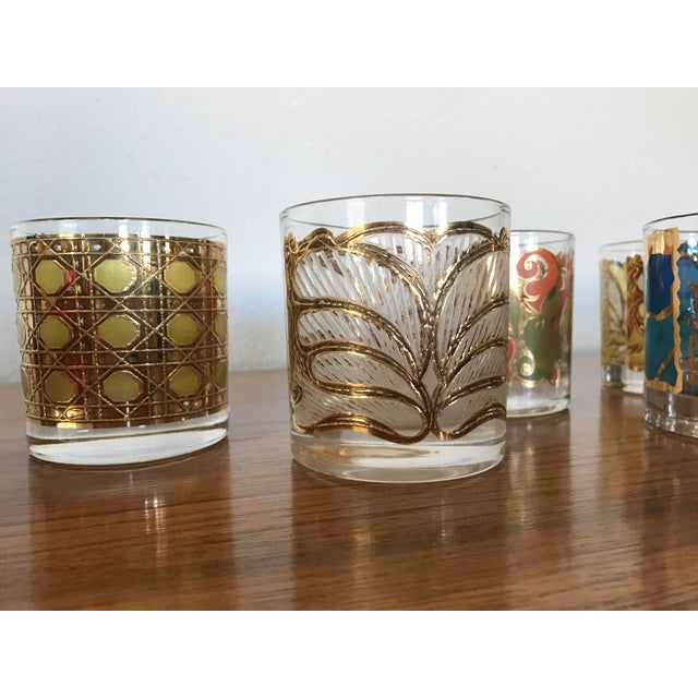 Mid-Century Georges Briard Cocktail Glasses - Set of 8 - Image 10 of 10