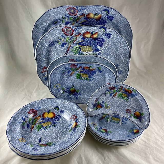 1920s Copeland Spode George III Pattern Platter for Harrods of London For Sale - Image 12 of 13