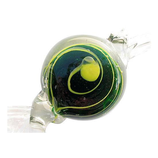 Murano Italian Swirl Candy Paperweight - Image 4 of 4