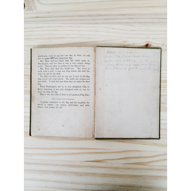 Paper 1901 Antique School Book For Sale - Image 7 of 10