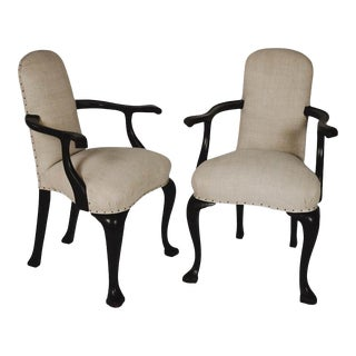 French Bergere Chairs- a Pair For Sale