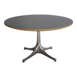 Vintage George Nelson for Herman Miller Pedestal Swag Leg Coffee Table For Sale