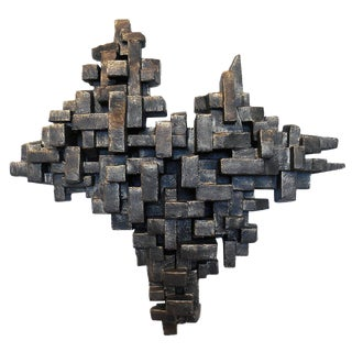 """Crustacea I"" Wall Sculpture by Dan Schneiger For Sale"
