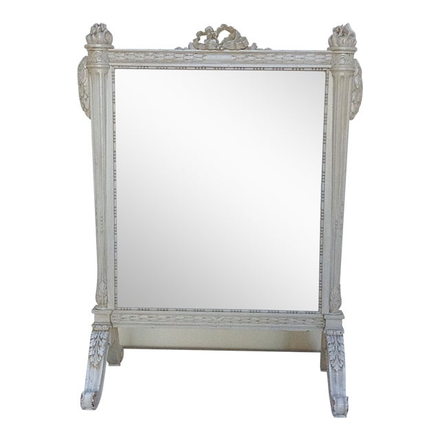 Antique French Fire Screen For Sale