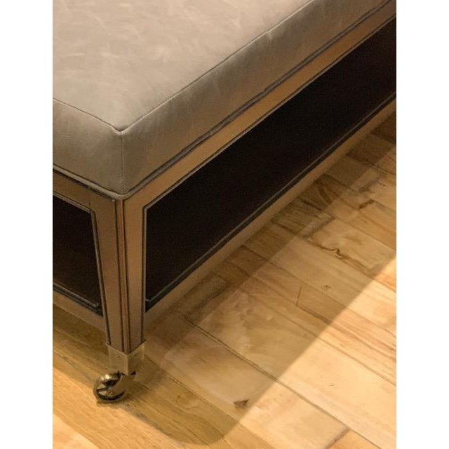 The Tucker Ottoman from Vanguard Furniture is a great statement piece as well comfortable and functional. It is covered in...