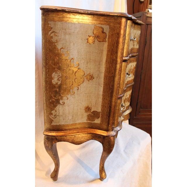 Vintage Italian Gilt Wood Dresser - Image 8 of 11