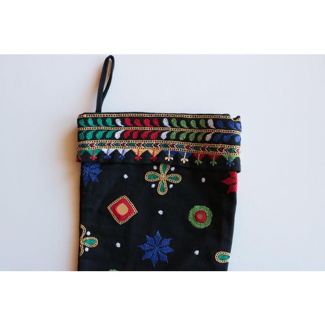 Indian Shisha Christmas Stocking For Sale - Image 4 of 6