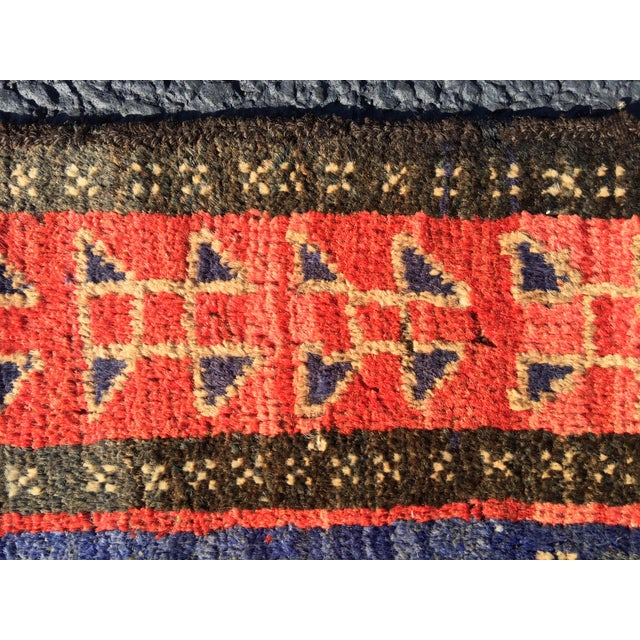 "Vintage Persian Mehebad Small Area Rug - 2'7""x4'3"" - Image 7 of 9"