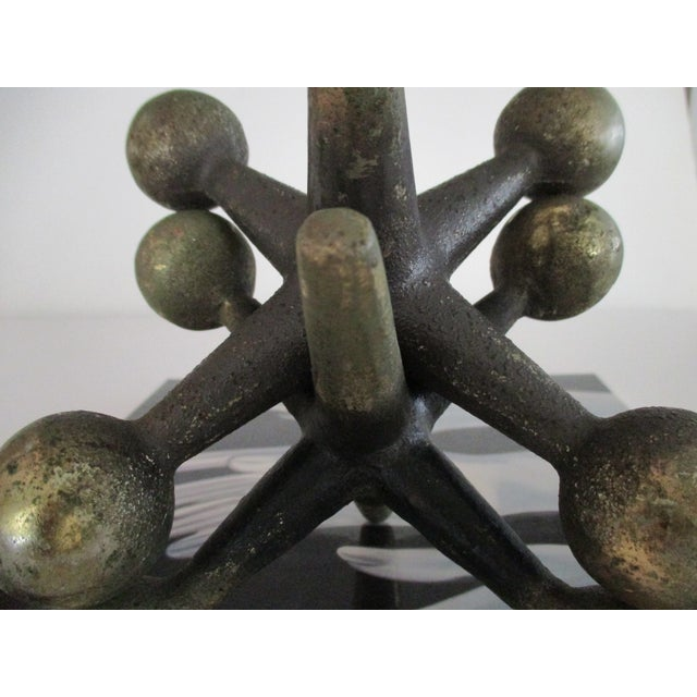 Cast Iron Jacks Bookends Bill Curry Mid Century - Image 8 of 11