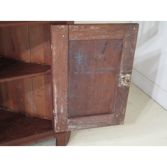 18th Century Antique Virginia Chippendale Walnut Corner Cabinet For Sale - Image 10 of 13