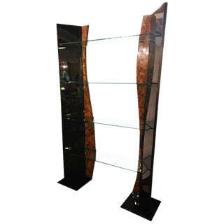 A Four Tier Etagere in Art Deco or Hollywood Regency Style For Sale