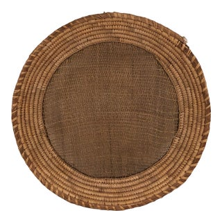 Antique Northwest Coast Native Sifting or Winnowing Basket For Sale