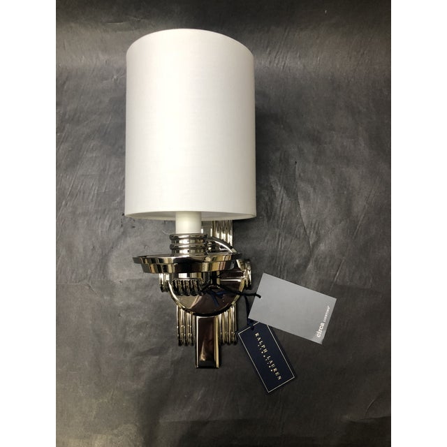 Ralph Lauren Chloe Jewelry Cuff Wall Sconce For Circa Lighting/Visual Comfort in a polished Nickel finish. This was a...
