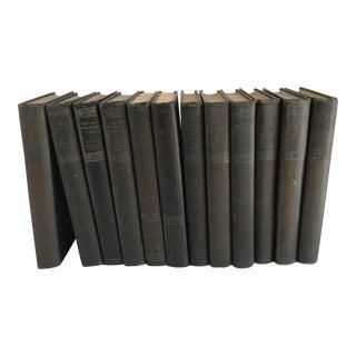 1920s Maupassant Antique Books - Set of 12