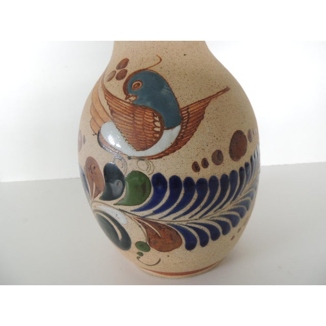 Large Mexican Tonala Water Jug. For Sale - Image 4 of 6